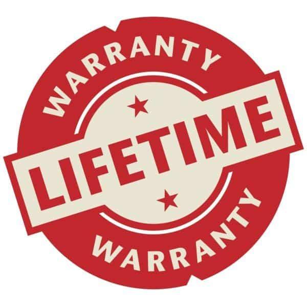 Lifetime Warranty for Rubber Torsion Hitches