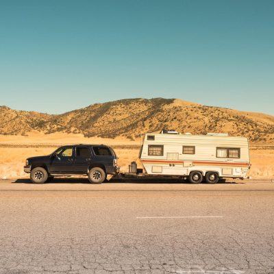 towing cross-country